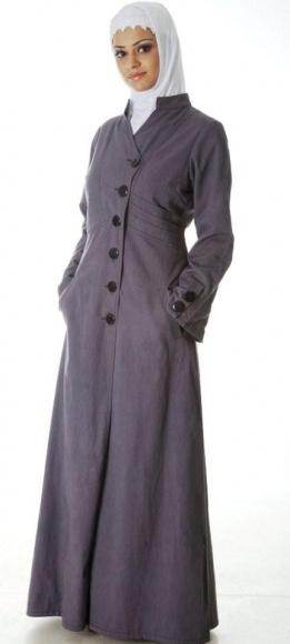 "Denim ""jilbab"" dress"