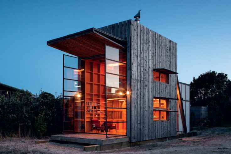 Hut on Sleds, Coromandel Peninsula, Crosson Clarke Carnachan Architects