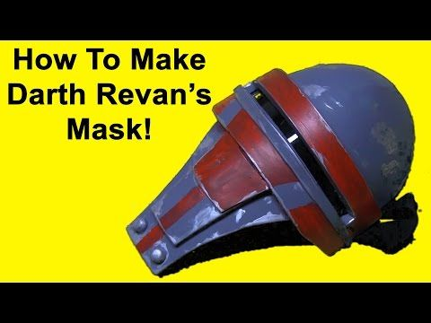 How to Make Darth Revan's Mask (Star Wars DIY) - YouTube