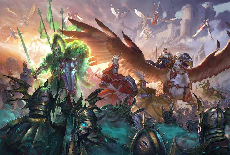 Total War: Warhammer-The Old World Edition by DiegoGisbertLlorens.deviantart.com on @DeviantArt