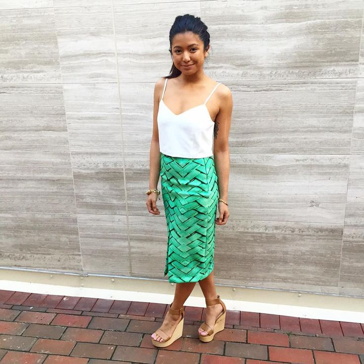 Our KOOKAÏette styles in the Soho Crop Top, Brazil Skirt and Caribbean Wedges, available in Boutiques and Online xx
