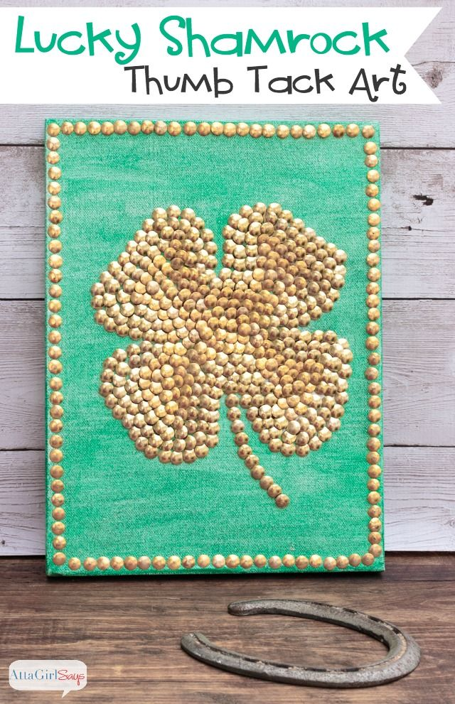 Blog post at Atta Girl Says : As much as I love a good practical joke, green beer and leprechauns, I don't normally do much decorating for St. Patrick's Day. But this [..]