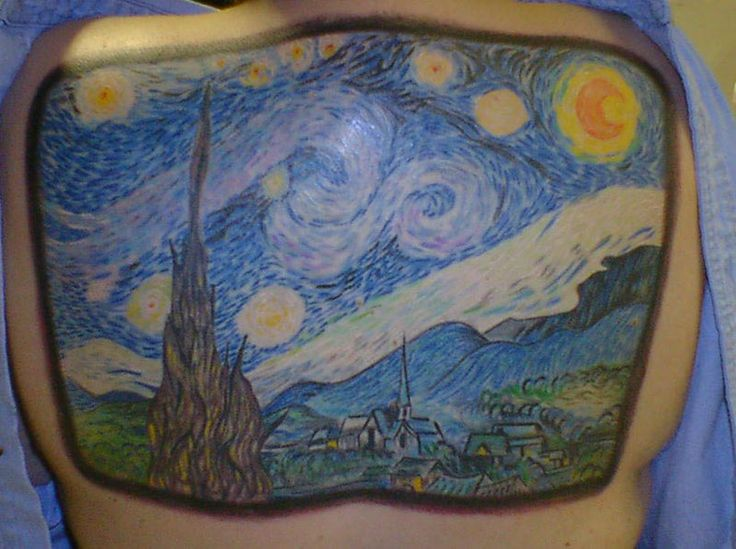 Vincent van gogh by todd hunter vincent van gogh for Eternal images tattoo