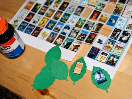 make a reading tree of all the books your child has read/been read to