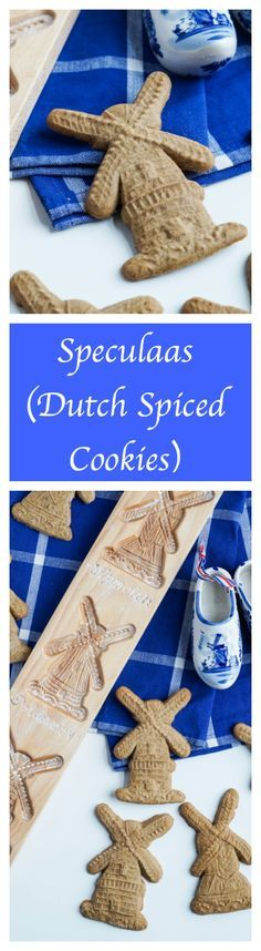 Speculaas (Dutch Spiced Cookies)  #speculaas #netherlands #dutch #cookie #cookies #dessert #sinterklaas #sinterklaasavond #christmas #winter #holiday
