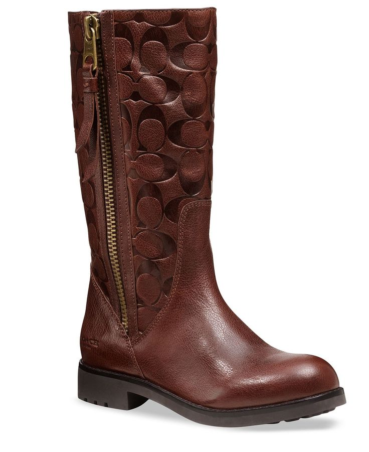 COACH VALENTINE BOOT - Coach Shoes - Handbags & Accessories - Macy's