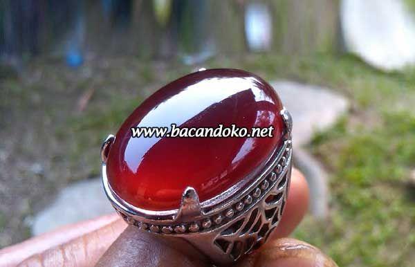 Batu Akik Red Raflesia Kualitas Super