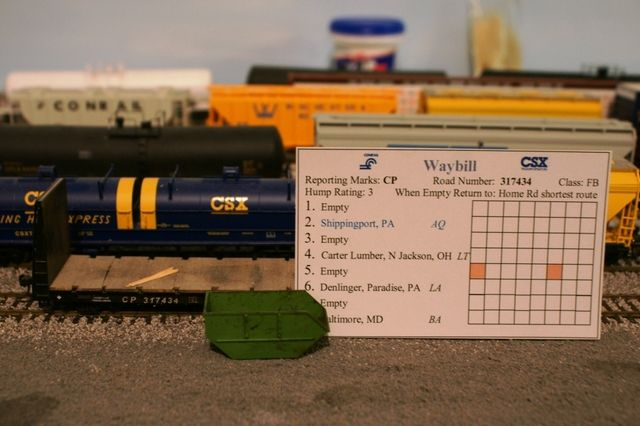 Model Railroad Waybills: Basic Waybills - Routing the Empties