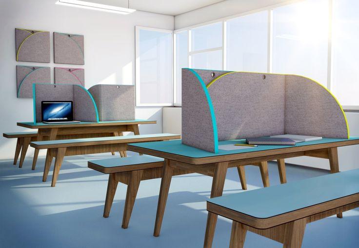My Place og My Place Maxi Skab din egen private arbejdszone med en støjdæmpende bordskærm. Er rigtig god hvis du ønsker at lydisolering fra nabo-siddepladsen. Derfor benyttes denne bordskærm i stor stil i undervisningsmiljøer. Bordskærmen findes i to forskellige størrelser; den almindelige og maxi-udgaven. Bordskærmene kan foldes så de kan medbringes overalt. Det er smart hvis du for eksempel har forskellige arbejdspladser, eller hvis du er en elev der skifter mellem forskellige…