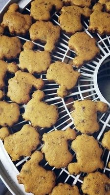 The Cookie Lady - Dog Biscuits - Flavors and Shapes Turkey Dinner Biscuits