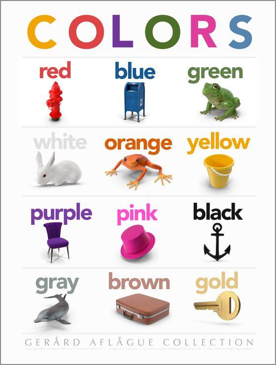 order this teacher created colors classroom poster teacher