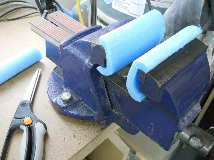 Handy Soft Mechanic's Vise Pads / Tampons pratiques pour étau de mécanicien
