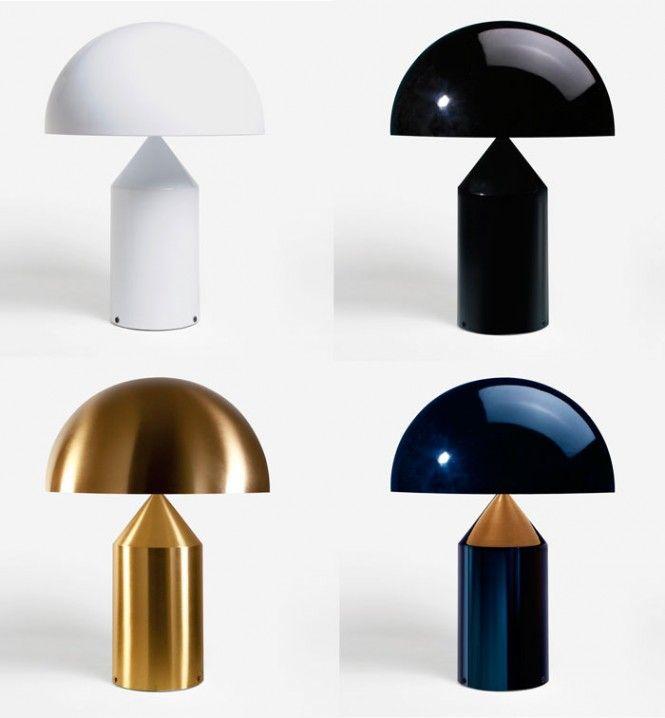 """La lampada """"Atollo"""" di MagistrettI"""