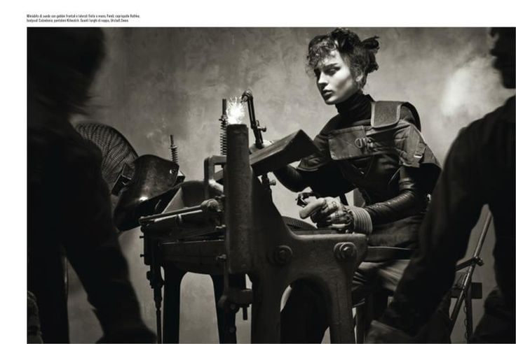 The Heart of the Machine (Vogue Italia)