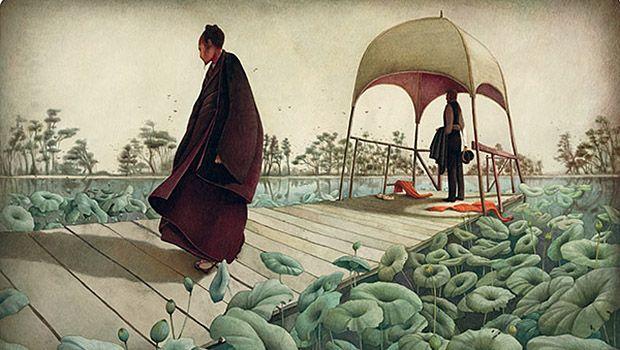 Illustration melancholy // REBECCA DAUTREMER