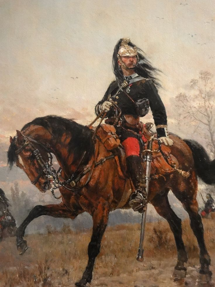 Captain of the Dragoons, Franco-Prussian War
