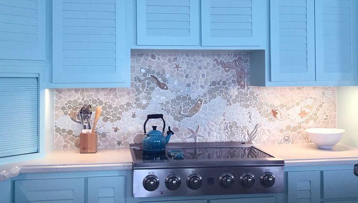Best 25 nautical kitchen backsplash ideas on pinterest for Nautical kitchen backsplash
