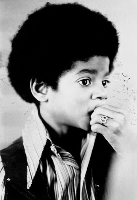 "Michael Jackson. ""I remember going to the record studio and there was a park across the street and I'd see all the children playing and I would cry because it would make me sad that I would have to work instead."""