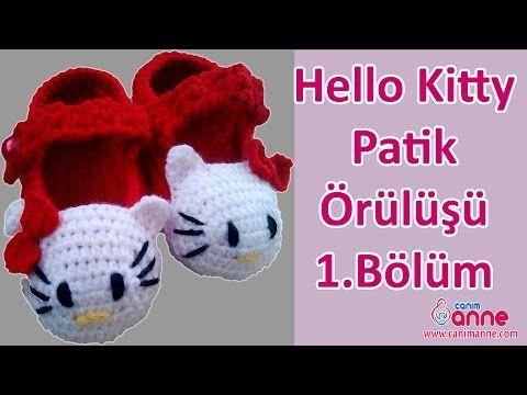 Hello Kitty Patik Örülüşü 1 Bölüm , Canım Anne - YouTube