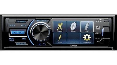Other Car Audio: Jvc Kdav31 Single Din Dvd Player 3 Qvga Display Detachable Faceplate -> BUY IT NOW ONLY: $126.84 on eBay!