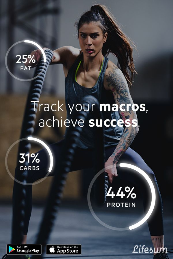 What you lift counts, what you eat counts more. Lifesum helps you keep track of your macros to build strong and sustainable muscles. Download free now and get started with your fitness journey!