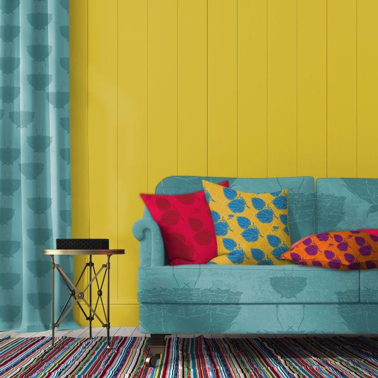 lotti_haeger Never allow colours to frighten you, they are life´s vibrations/ nunca dejes que los colores te asusten, son la vibración de la vida #lottihaeger #architecture #casa #color #colour #design #diseño #decoración #decoration #fabrics #furniture #fabricdesign #hem #home #inredning #interiordesign #patrones #patterns #telas #tyger #tissus #textiles