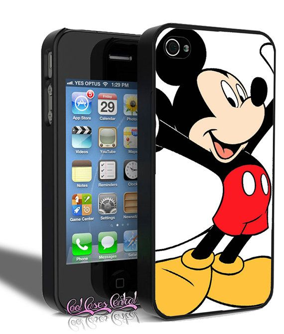 Mickey Mouse Disney Character iPhone 4/4s Case on Etsy, $11.99