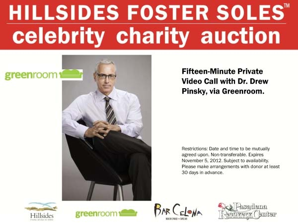Bid on the opportunity for fifteen minutes private video chat with Dr. Drew Pinsky, via Greenroom!! Bid here:http://www.ebay.com/itm/Experience-a-15-Minute-Video-Call-With-Dr-Drew-Pinsky-Via-Greenroom-/261010536251?pt=LH_DefaultDomain_0=item3cc570b73b