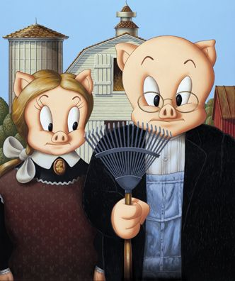 17 Best Images About Art Parodies American Gothic On