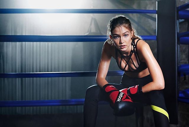 Gigi Hadid for Reebok´s #PerfectNever Campaign