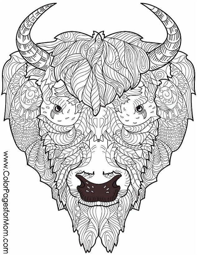 Animal Coloring Page 23 Adult Coloring Pages Adult Coloring