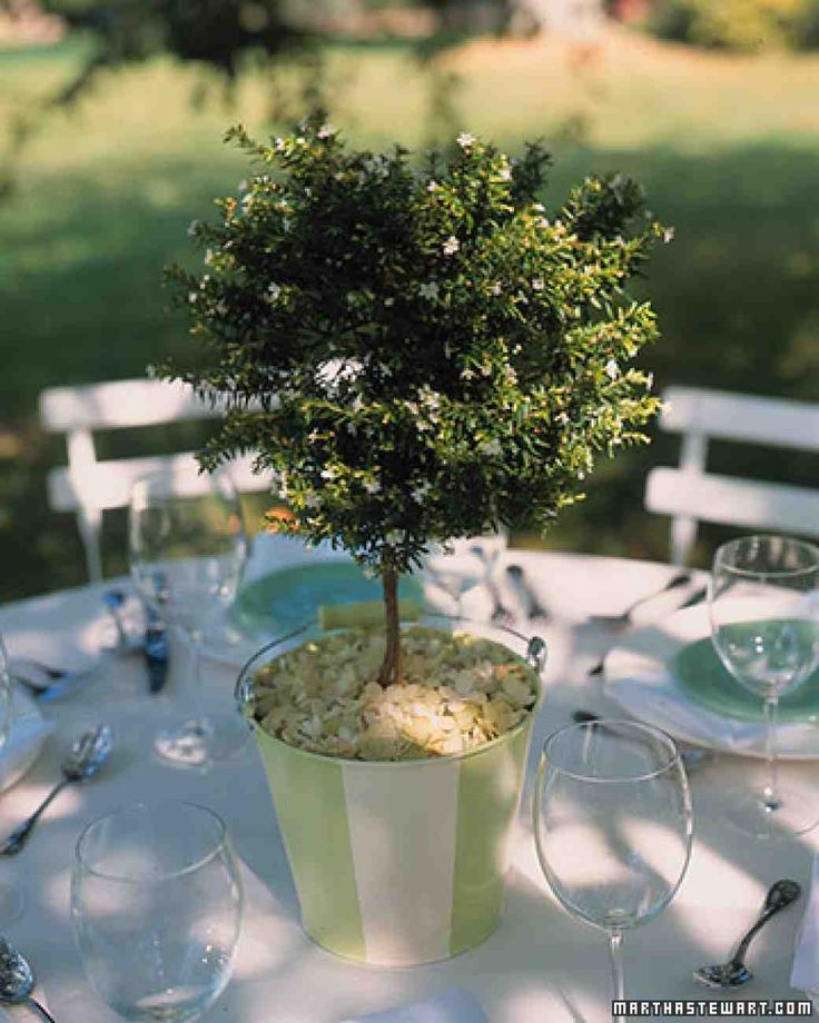 Best ideas about bucket centerpiece on pinterest