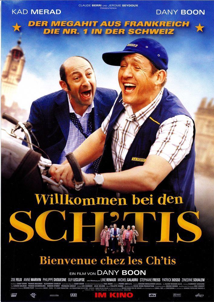 WILLKOMMEN BEI DEN SCH TIS - BIENVENUE CHEZ LES CH TIS - 2008 - FILMPOSTER A4