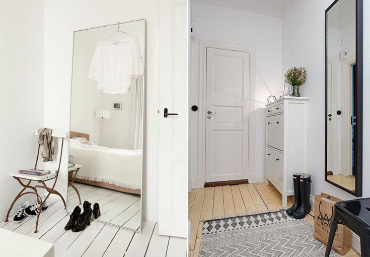 25 beste idee n over grote muurspiegels op pinterest muur spiegels spiegels en muurspiegel - Zorgen voor een grote spiegel aan de wand ...