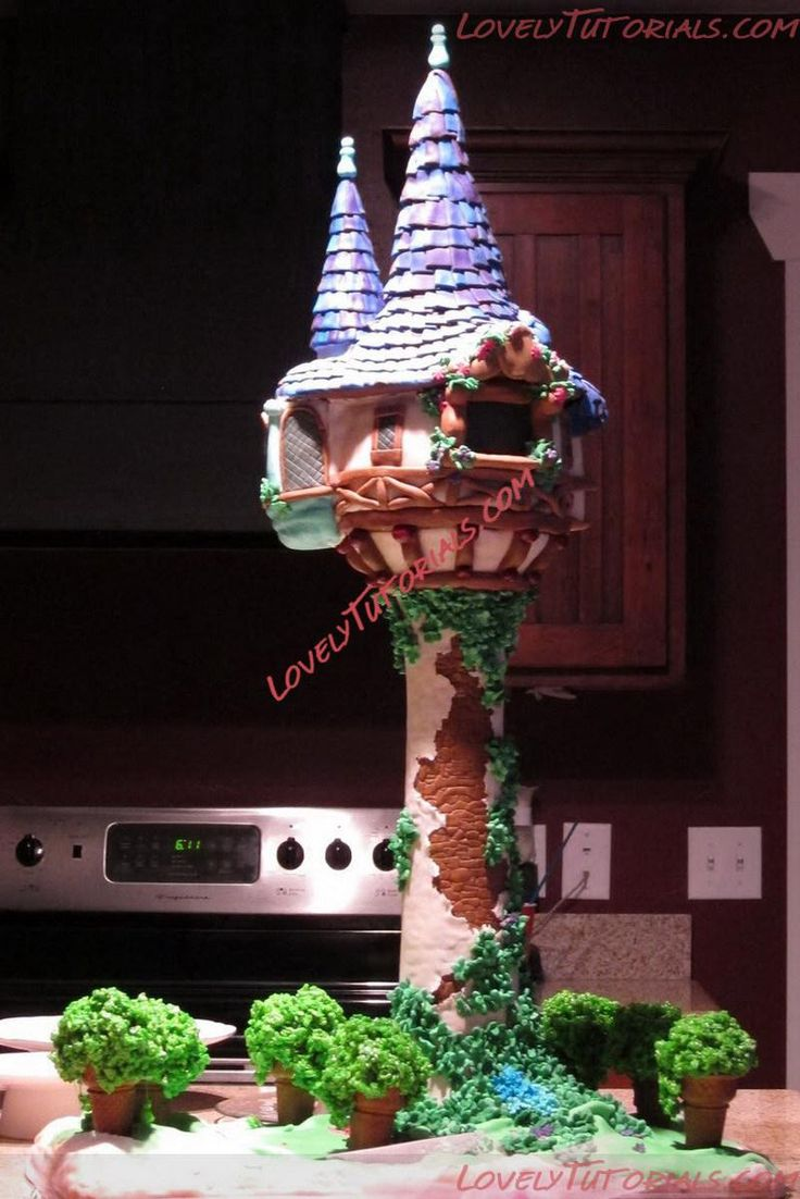 """МК лепка """"Принцесса Рапунцель"""" -Gumpaste (fondant, polymer clay) Princess Rapunzel making tutorials - Мастер-классы по украшению тортов Cake Decorating Tutorials (How To's) Tortas Paso a Paso"""