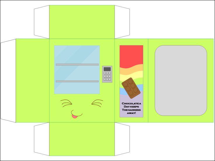 Vending Machine Green by CutyCandy27.deviantart.com on @DeviantArt