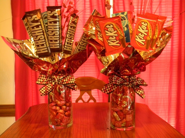 Candy Arrangements For The Kids Valentines Day Gifts Cakes And