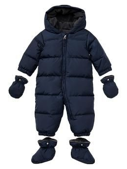 Warmest puffer snowsuit...... def a must have for playing in the snow!!