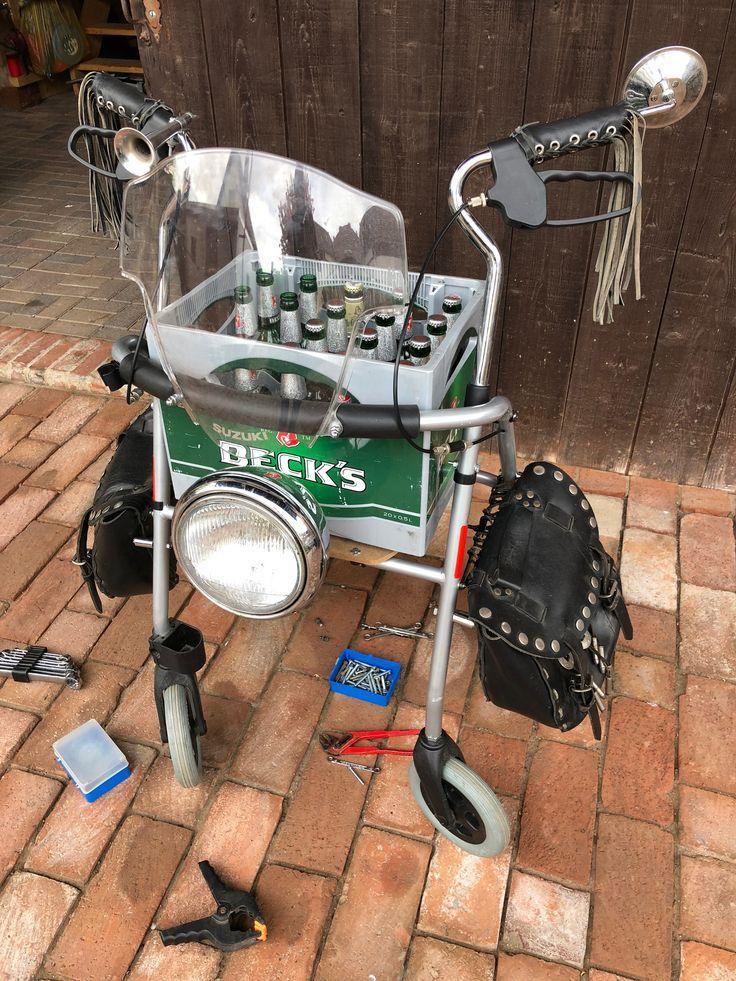 Biker Rollator Biker Geschenk – #60er #Biker #Gesc…
