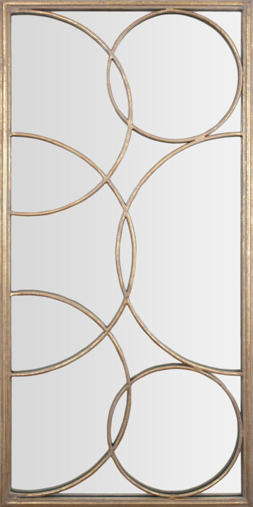 Gold Leaf Transitional Wall Decor - Mirror Image Home