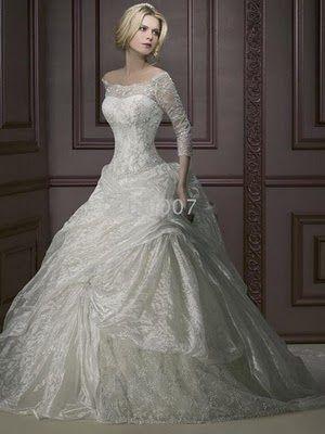 Full Sleeves Wedding Dress