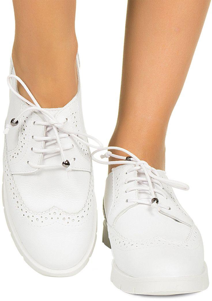 Tênis oxford branco Taquilla - Taquilla - Loja online de sapatos femininos