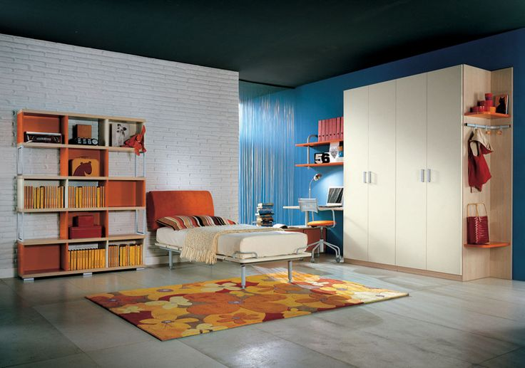 Cool Teen Bedroom Design Ideas