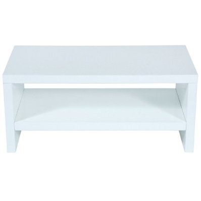 """Levv High Gloss TV Stand for up to 50"""" TV - White"""