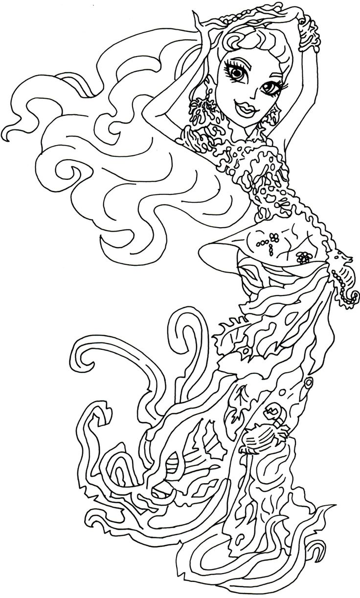 clawdia wolf coloring pages - photo#14