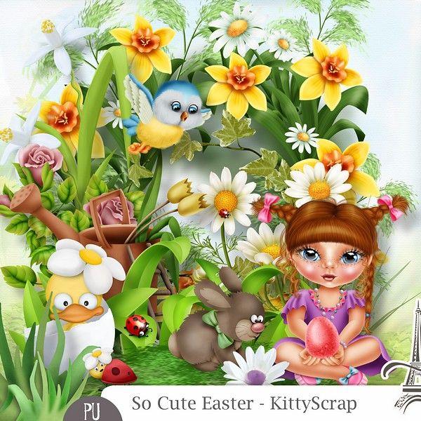Le Blog de kittyscrap: ESSENTIEL : So Cute Easter