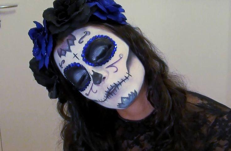 Halloween : Tuto Maquillage Sugar Skull