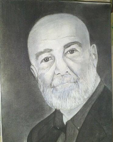 Retrato a Carboncillo