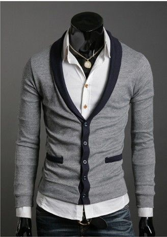 Designer Clothes For Men Asia Mans cardigan men s wear