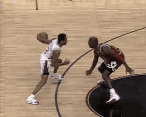 Allen Iverson Crossovers on MJ.